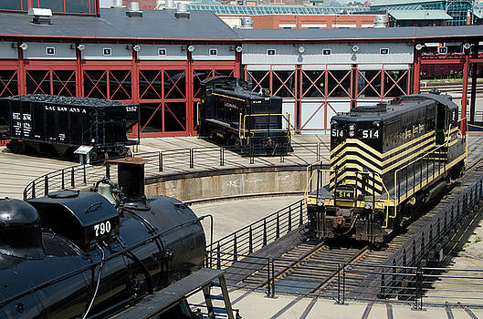 Eleanor Bortnick - Roundhouse at Steamtown