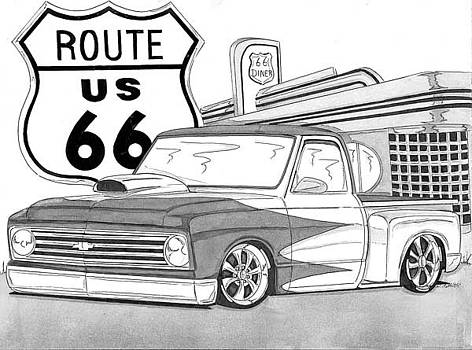 Rout 66 by Nathan  Miller