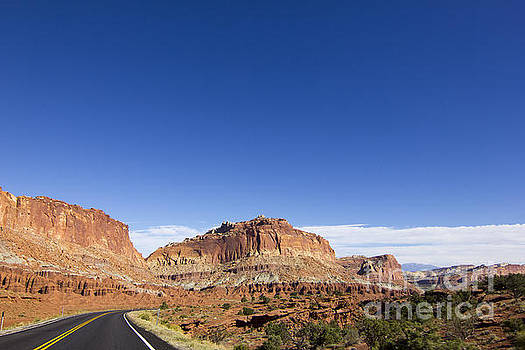 Route 24 - Capitol Reef by Amie Lucas