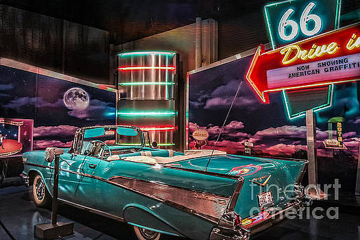 Route 66 Chevy Bel-Air by Peggy Franz