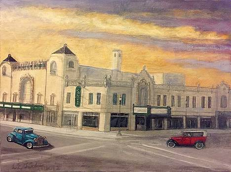 Route 66 Coleman Theatre beautiful Miami Oklahoma  by Larry E Lamb