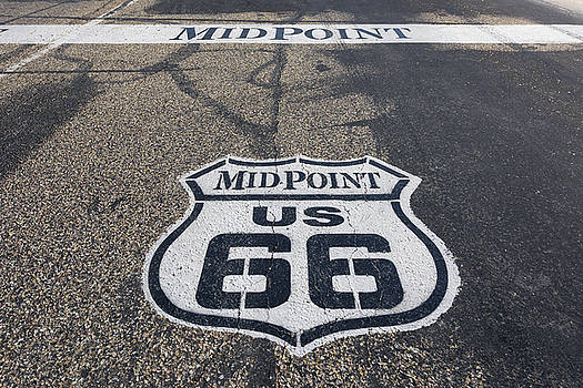 Route 66 Midpoint by Marco Isler