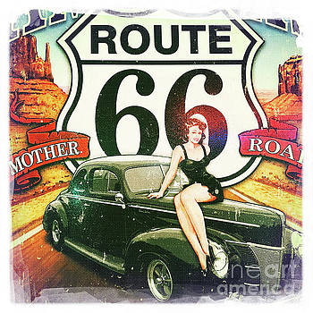 Route 66 by Nina Prommer