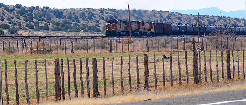 Victoria Oldham - Route 66 Oil Tanker Train