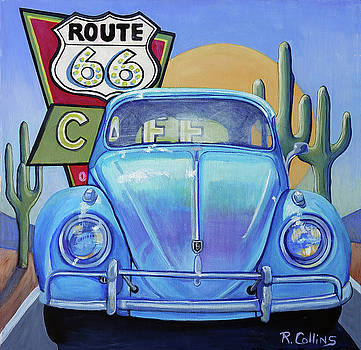 Route 66 by Rose Collins