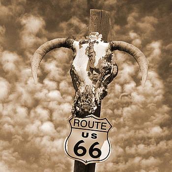 Mike McGlothlen - Route 66 Sign