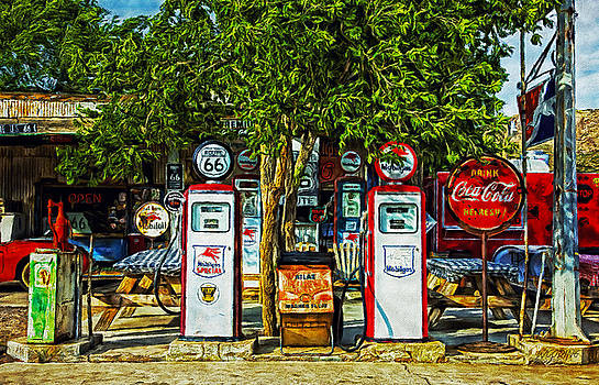 Route 66 by William Wooding