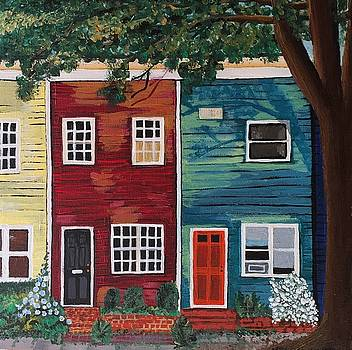 Row Houses by Helen Kuhn