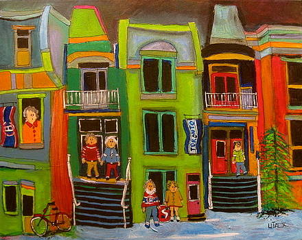 Row Houses by Michael Litvack