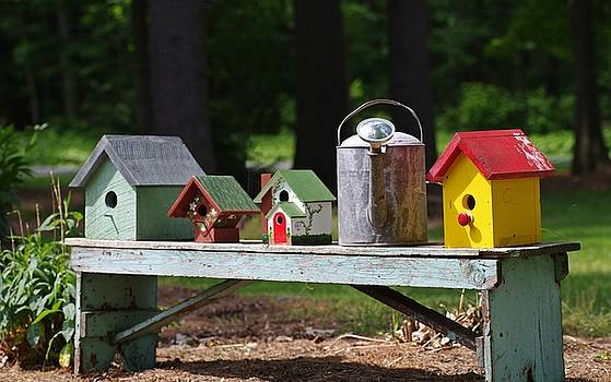 Row Housing by Stephanie Calhoun
