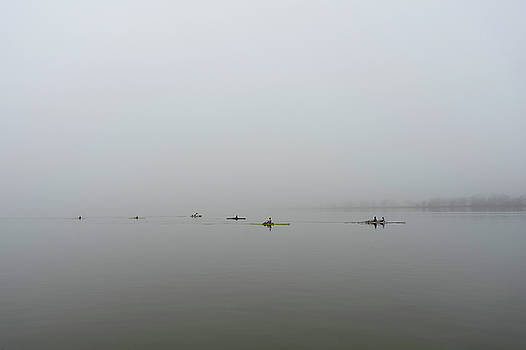Foggy morning on the Potomac by David Posey