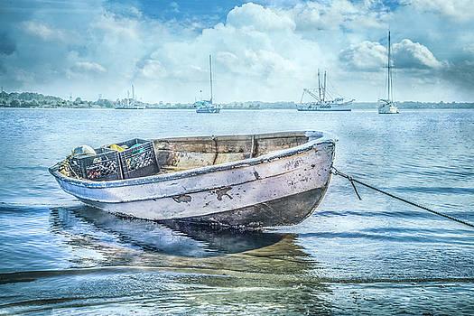 Debra and Dave Vanderlaan - Rowboat at the Marina