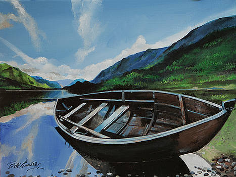 Rowboat Waiting by Bill Dunkley
