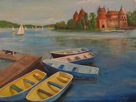 Vaska Adventures on Lake Galve Lithuania by Maria Milazzo