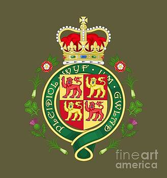 Dale Powell - Royal Badge of Wales
