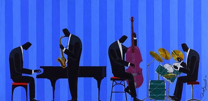 Royal Blues Quartet by Darryl Daniels