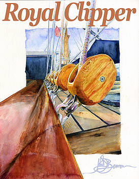 Royal Clipper Art by John D Benson