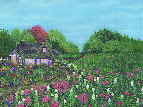 Royal Cottage and Garden by Bonnie Cook