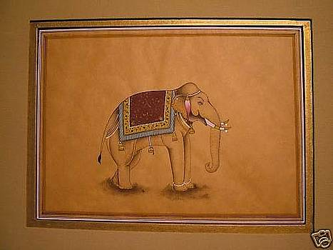 Royal Elephant. by Unknown