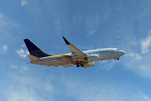 Royal Jet Boeing 737-7Z5 by Nichola Denny