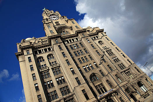 Royal Liver Building by David Chennell