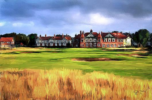 Royal Lytham St. Annes Golf Club by Scott Melby