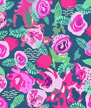 Royal Roses by Uma Gokhale