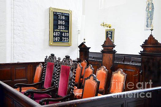 Royal Seating in Aarhus Cathedral by Catherine Sherman