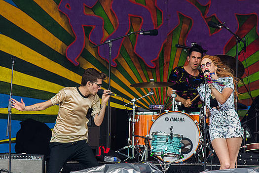 Royal Teeth at the 2014 Jazz Fest by Terry Finegan