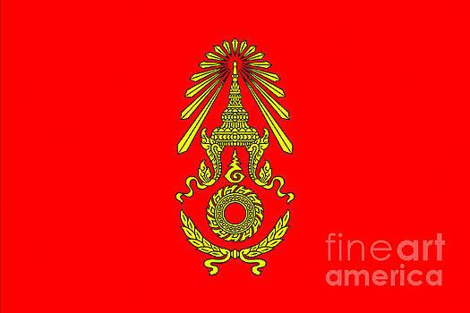 Royal Thai Amy Flag by Ian Gledhill