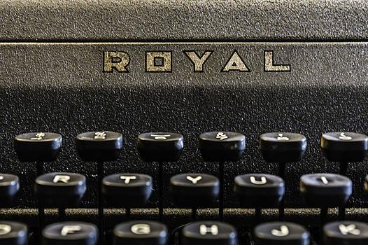 Chris Coffee - Royal Typewriter #1