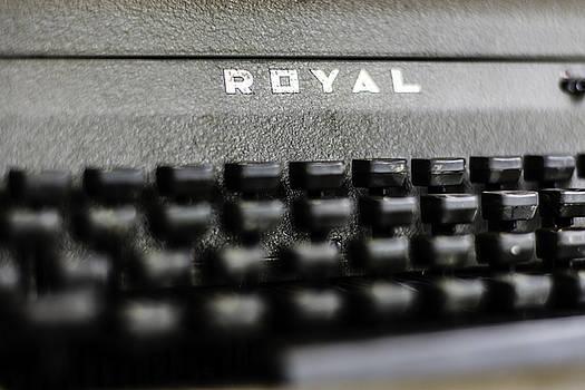 Chris Coffee - Royal Typewriter #11