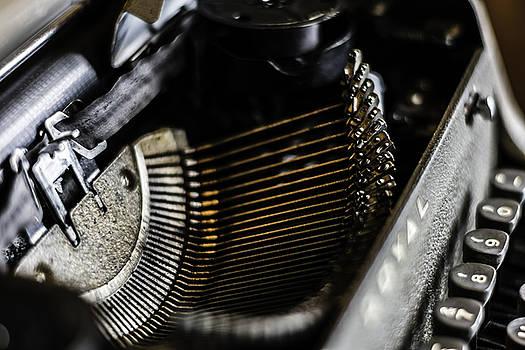 Chris Coffee - Royal Typewriter #13