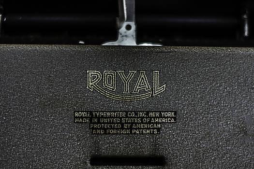 Chris Coffee - Royal Typewriter #15