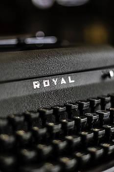 Chris Coffee - Royal Typewriter #19