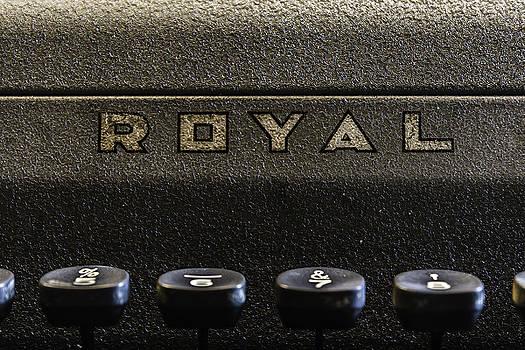 Chris Coffee - Royal Typewriter #3