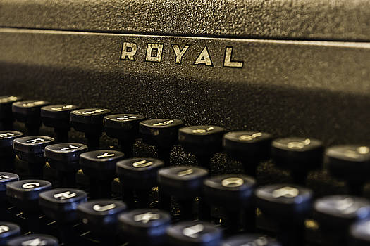 Chris Coffee - Royal Typewriter #4