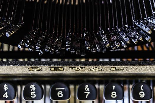 Chris Coffee - Royal Typewriter #6
