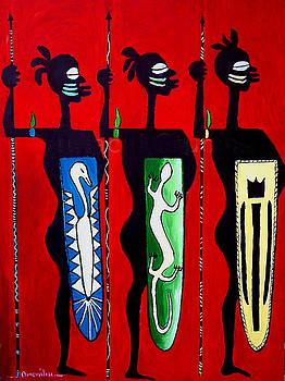 Royal Warriors by Omenihu Amachi