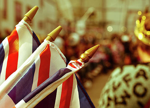 Royal wedding celebrations by Paul Jarrett