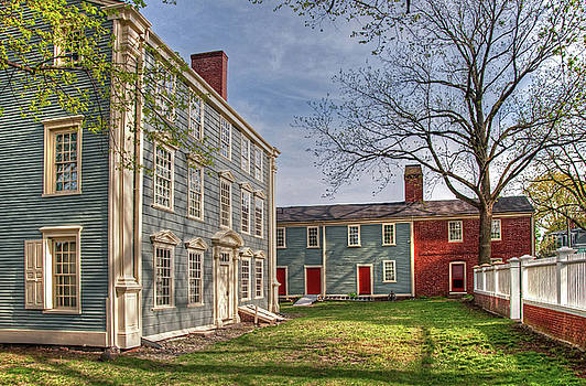 Wayne Marshall Chase - Royall House and Slave Quarters