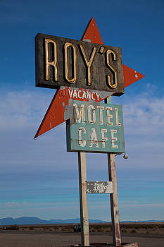 Roy's Motel Cafe by Matthew Bamberg