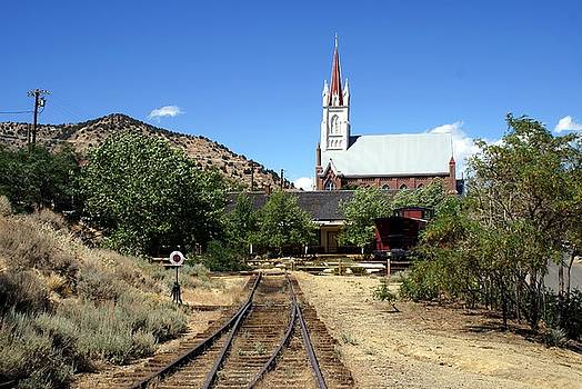 RR Ends at Virginia City by Edward Hass