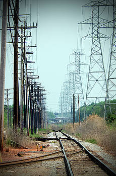 RR Tracks And Wires by Brian Wallace