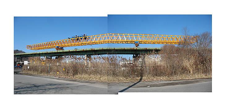 Rt 25A Bridge by Alan  Zindman