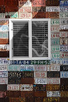 Karen Scovill - Rt 66 License Plates