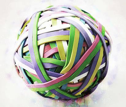 Rubberband Ball III by Pekka Liukkonen