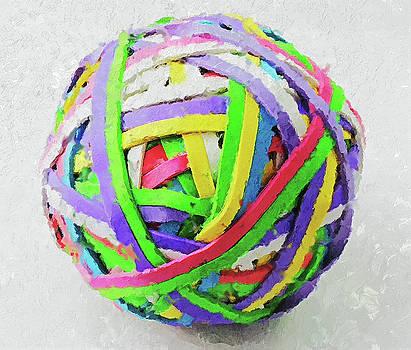 Rubberband Ball I by Pekka Liukkonen