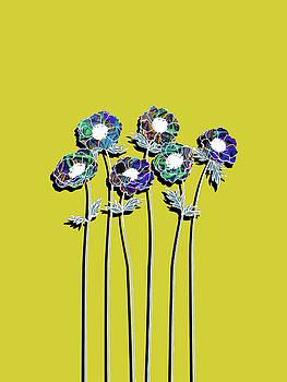 Rubino Graffiti Flower by Tony Rubino