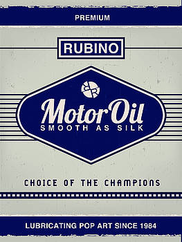 Rubino Motor Oil by Tony Rubino